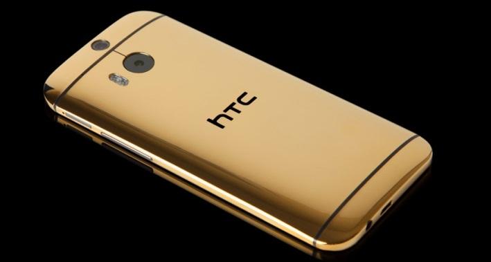 HTC One M8 از جنس طلای ۲۴ عیار قیمت ۱۵۰۰ پوند