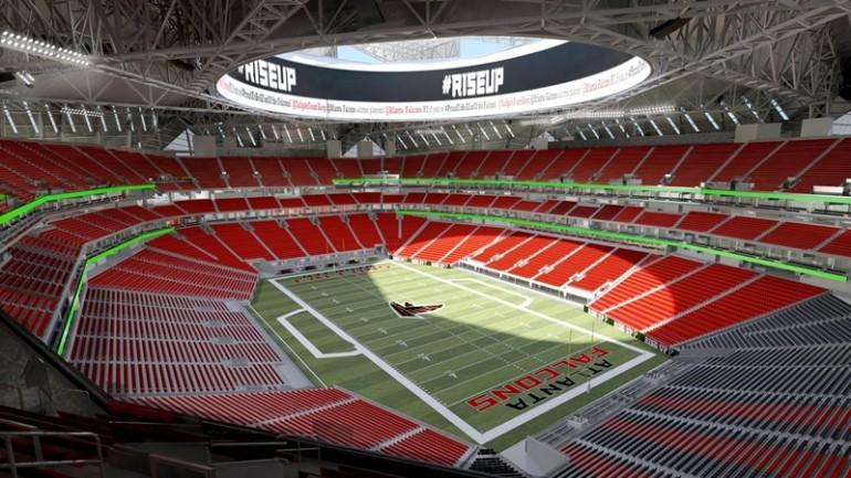 نگاهی به استادیوم آتلانتا فالکونز با سقف بازشو 8 تیکه - آی تی رادارنگاهی به استادیوم آتلانتا فالکونز با سقف بازشو ۸ تیکه