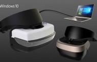 مایکروسافت در مراسم ویندوز ۱۰ خود هدست واقعیت مجازی جدید و ارزان قیمت معرفی کرد