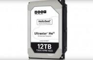 وسترن دیجیتال از ساخت دو هارد دیسک مبتنی بر هلیوم با ظرفیتهای ۱۲ و ۱۴ ترابایت خبر داد
