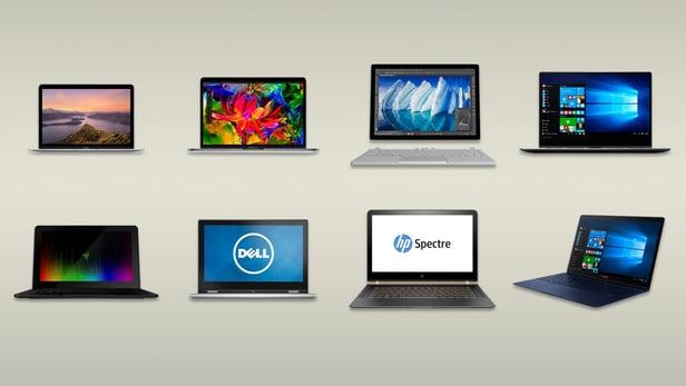 راهنمایی خرید : مقایسه و بررسی جامع بهترین لپ تاپ های ۲۰۱۷