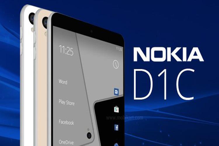 درز تصویری از جعبه گوشی هوشمند نوکیا D1C