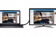 روش های اتصال لپ تاپ به تلویزیون