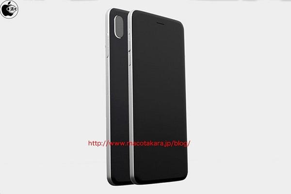 درز شایعات حاکی از آن است که آیفون ۸ اپل دارای فریم فولادی ضد زنگ، دوربین عمودی iSight و صفحه نمایش مسطح خواهد بود