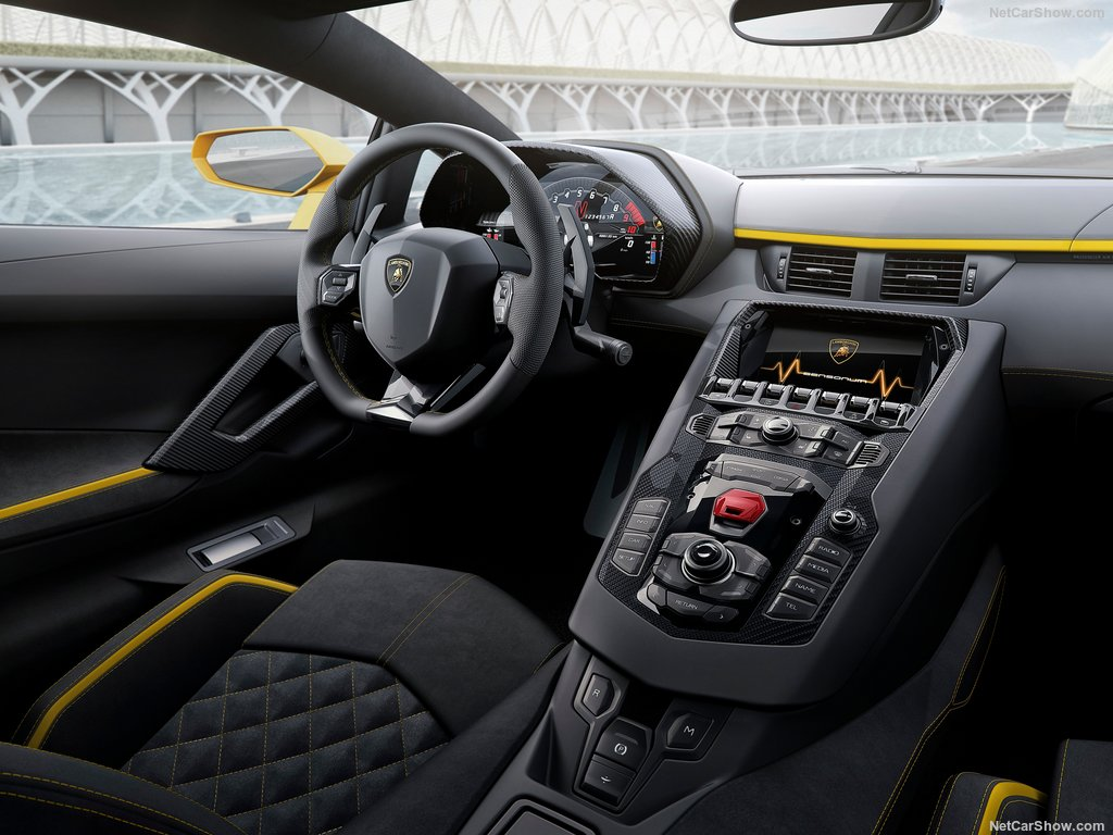 خودروی اسپرت لامبورگینی آونتادور S Lamborghini-Aventador_S (4)