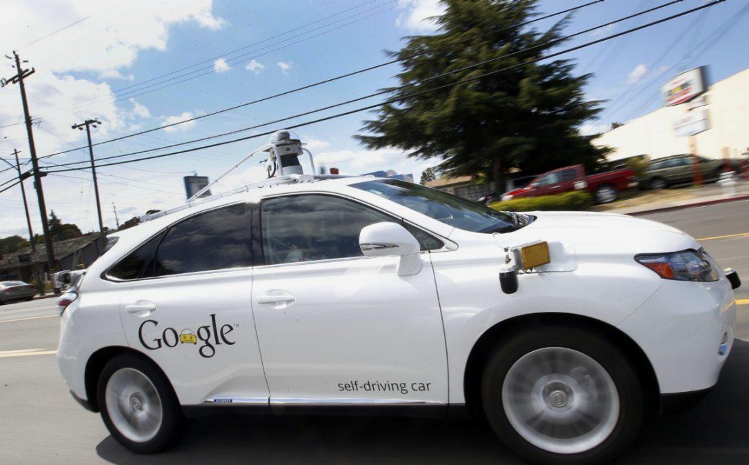 خودروی خودران گوگل در داخل بازی GTA (1)