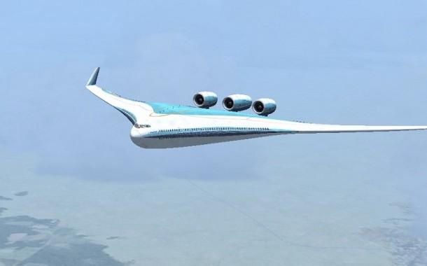 بال ادغام شده در بدنه ، طرحی برای آینده هواپیماهای مسافری و ترابری