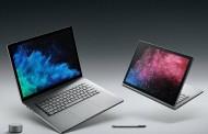 مایکروسافت لپ تاپ سرفیس بوک ۲ را در دو مدل ۱۳ و ۱۵ اینچی و پردازنده نسل هشتمی اینتل معرفی کرد