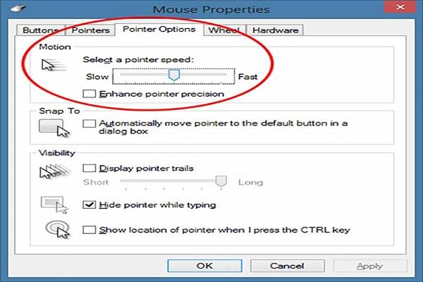 مایکروسافت برای حل مشکل ماوس های کم دقت، امکان بهبود نرمافزاری دقت آنها را فراهم کرد