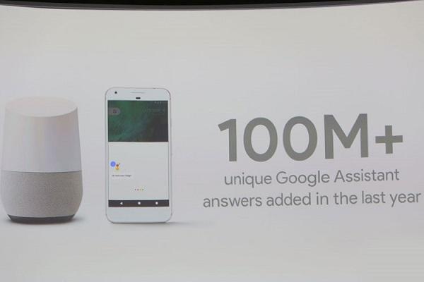 ۱۰۰ میلیون پاسخ منحصربهفرد به گوگل اسیستنت اضافه شده است