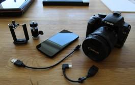 اتصال دوربین به گوشی (1)